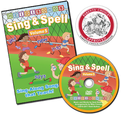 Sing & Spell the Sight Words - Volume 5 Animated DVD