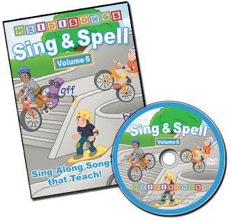 Sing & Spell the Sight Words - Volume 6 Animated DVD