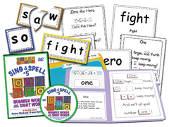 Sing & Spell the Sight Words - Volume 5 Classic DVD Basic Combo