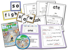 Sing & Spell the Sight Words - Volume 6 Animated DVD Basic Combo