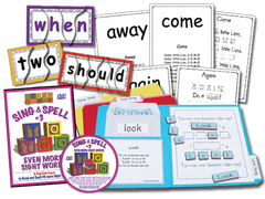 Sing & Spell the Sight Words - Volume 3 Classic DVD Basic Combo