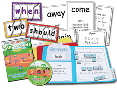 Sing & Spell the Sight Words - Volume 3 - Animated DVD Basic Combo