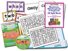 Sing & Spell the Sight Words - Volume 3 - Animated DVD Premium Combo