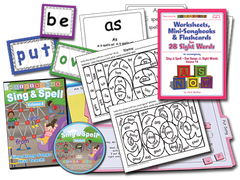 Sing & Spell the Sight Words - Volume 4 - Animated DVD Premium Combo