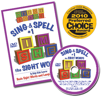Heidi Songs: Sing & Spell the Sight Words - Volume 1 DVD
