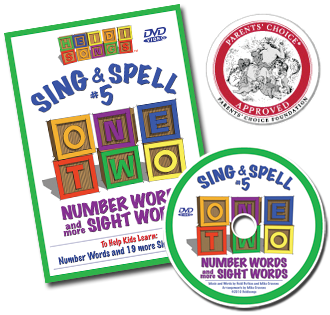 Heidi Songs: Sing & Spell the Sight Words - Volume 5 DVD