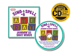Sing & Spell the Sight Words - Volume 6 CD