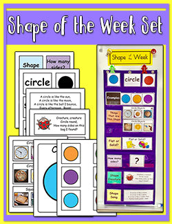 Shape of the Week Focus Wall Set