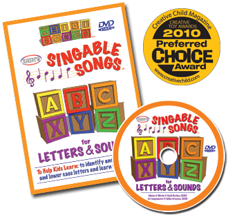 Heidi Songs: Singable Songs for Letters and Sounds DVD