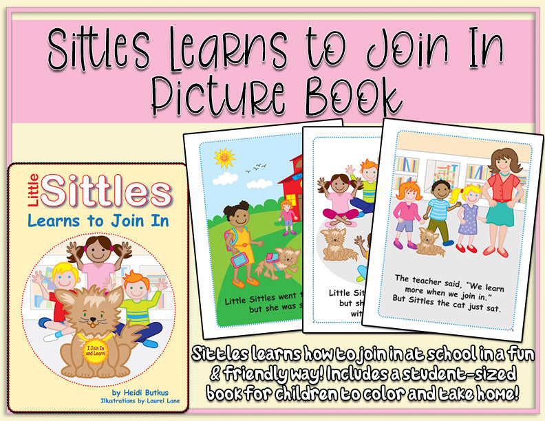 Little Sittles Learns to Join In Picture Book