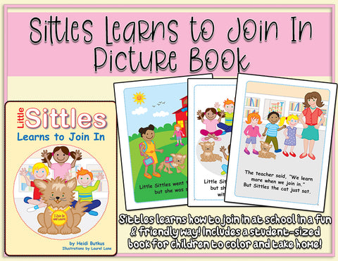 Heidi Songs: Little Sittles Learns to Join In Picture Book