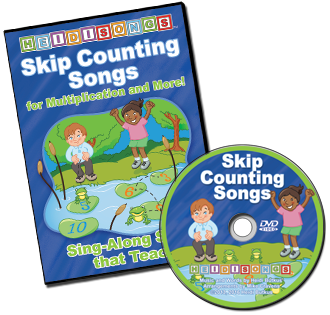 Heidi Songs: Skip Counting Songs DVD