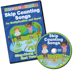 Skip Counting Songs DVD