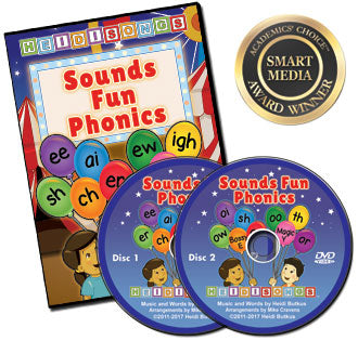 Heidi Songs: Sounds Fun Phonics Animated DVD