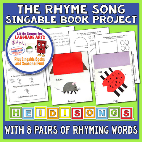 Heidi Songs: The Rhyme Song & Singable Book Project