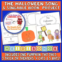 The Halloween Song & Singable Book Project