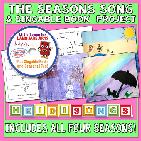 Heidi Songs: The Seasons Song & Singable Book Project