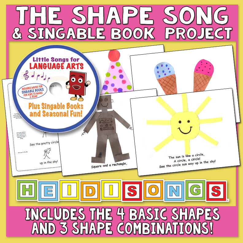 The Shape Song & Singable Book Project