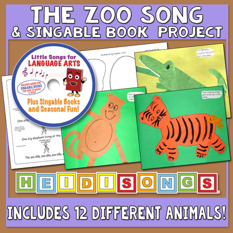 Heidi Songs: The Zoo Song & Singable Book Project