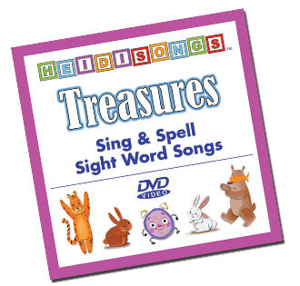 Sing and Spell: Treasures Animated Kindergarten Song Collection