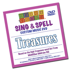 Sing and Spell: Treasures Kindergarten Song Collection