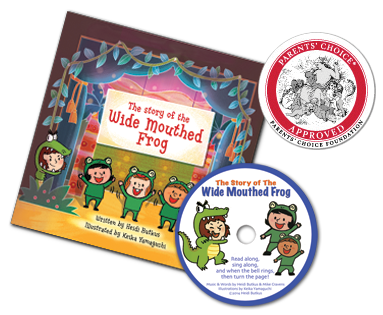 The Story of the Wide Mouthed Frog - Picture Book & Read-Along CD