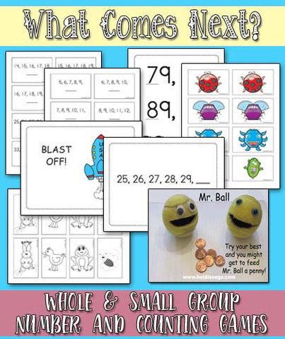 Heidi Songs: What Number Comes Next? Game Bundle