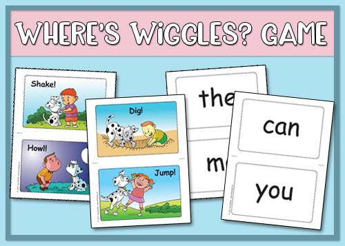 Where's Wiggles? Game