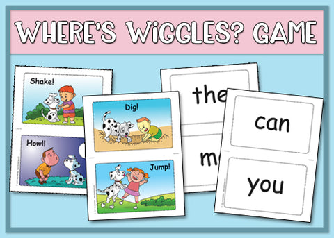 Heidi Songs: Where's Wiggles? Game