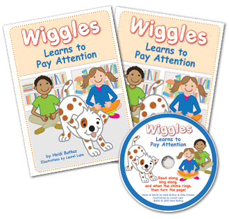 Heidi Songs: Listening Center - Wiggles Learns to Pay Attention