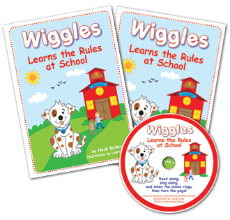 Heidi Songs: Listening Center - Wiggles Learns the Rules