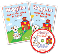Listening Center - Wiggles Learns the Rules