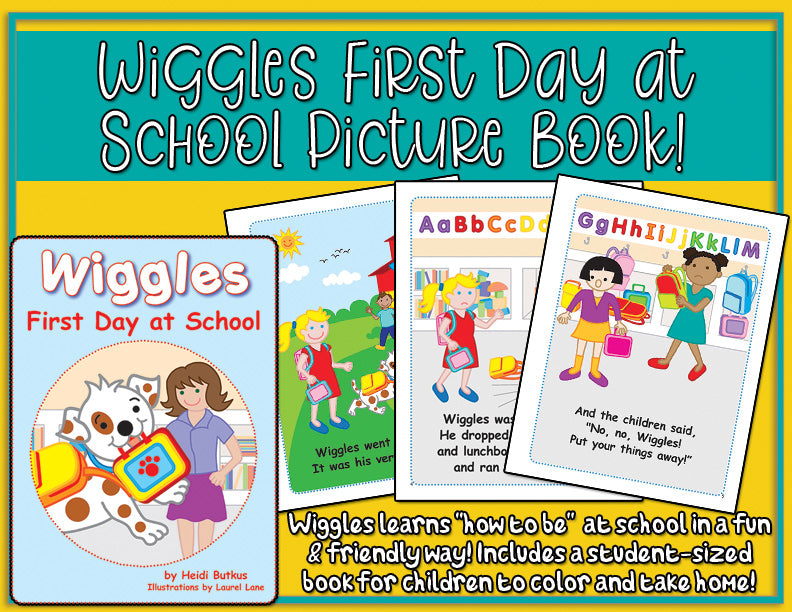 Wiggles First Day at School Picture Book