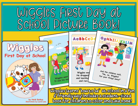 Heidi Songs: Wiggles First Day at School Picture Book