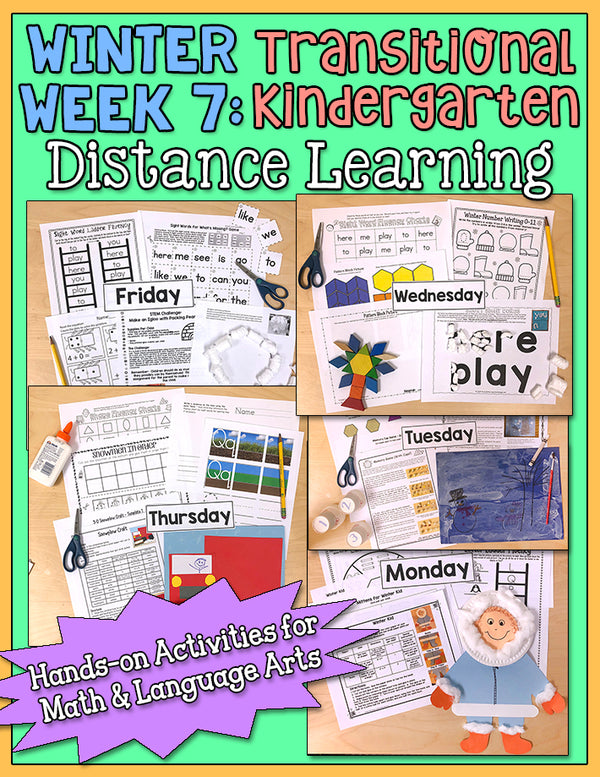 Distance Learning: Winter Week 7