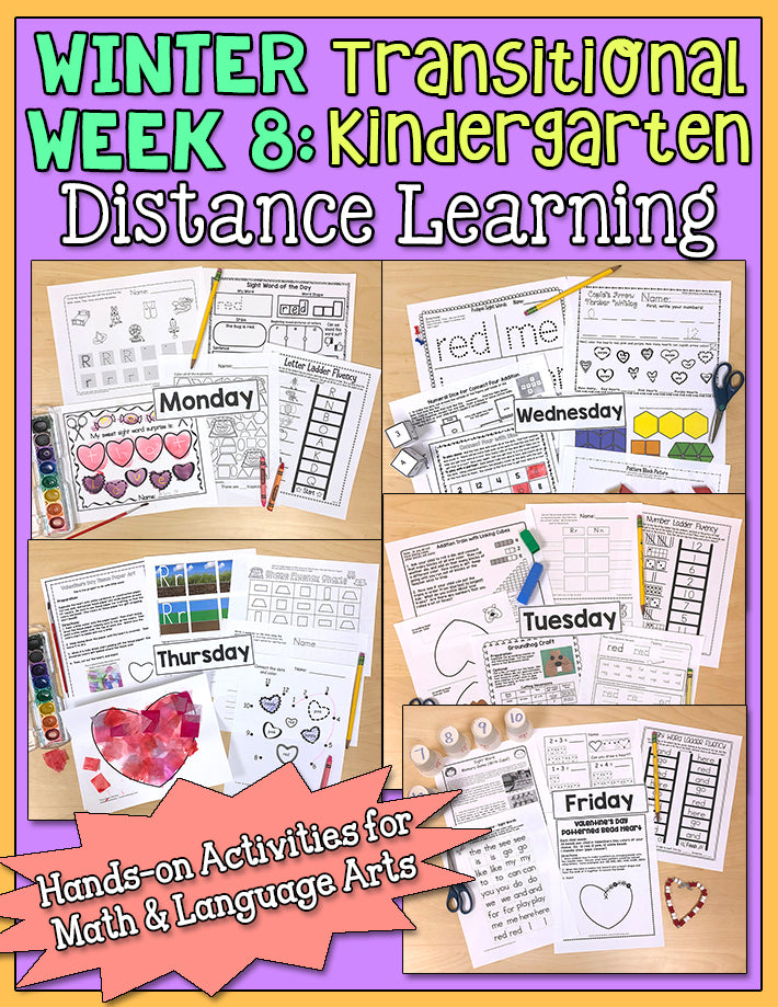 Distance Learning: Winter Week 8