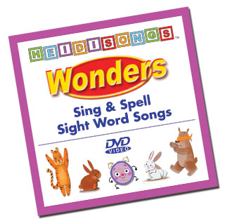 Heidi Songs: Wonders Animated Sight Word Song Collection