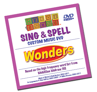Heidi Songs: Wonders Kindergarten Sight Word Song Collection