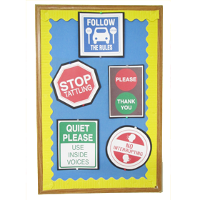 Classroom Management Poster & Coloring Set