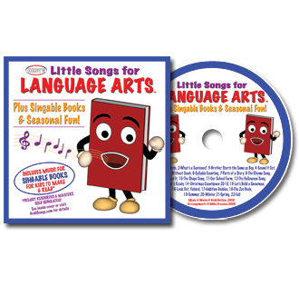 Heidi Songs: Little Songs for Language Arts CD