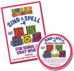 Sing & Spell the Sight Words - Volume 4 Classic DVD