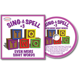 Heidi Songs: Sing & Spell the Sight Words - Volume 3 CD