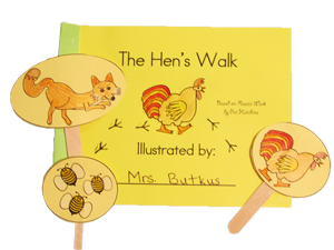 The Hen's Walk Book