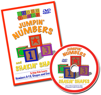 Jumpin' Numbers & Shakin' Shapes - Vol. 1 DVD