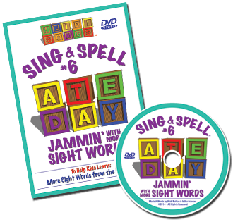 Heidi Songs: Sing & Spell the Sight Words - Volume 6 DVD