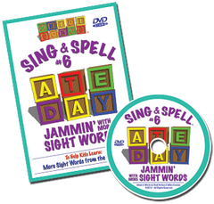 Sing & Spell the Sight Words - Volume 6 Classic DVD