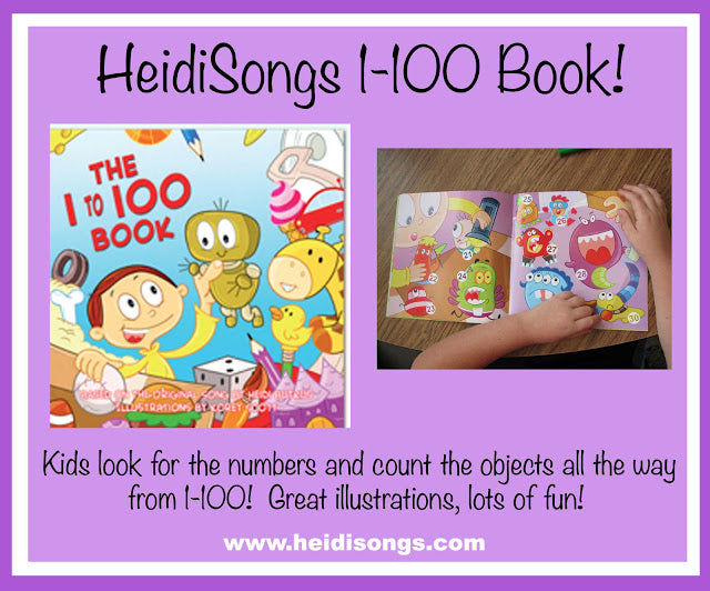 A HeidiSongs 1-100 Story book!