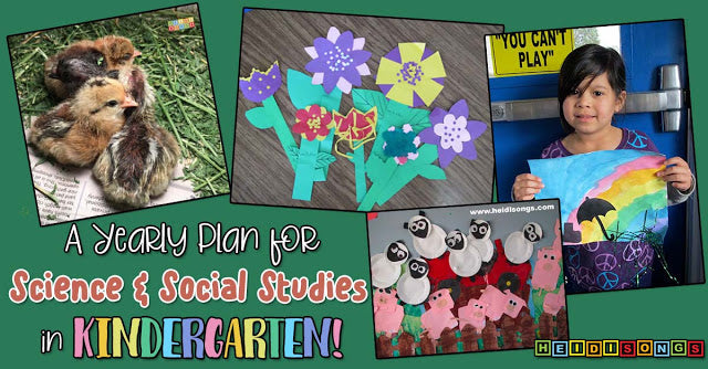 A Yearly Plan for Science & Social Studies in Kindergarten