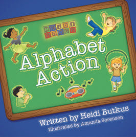A HeidiSongs Alphabet Picture Book!