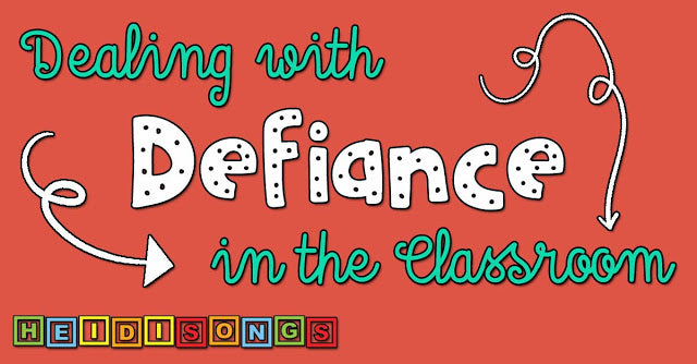 Dealing with Defiance in the Classroom